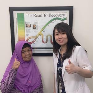Testimoni Ny. Asmidar, Medan