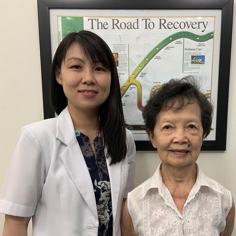 Testimoni Mrs. Wong Tjioe Ha, Jakarta