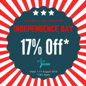 Promo Spine Sehat Special Independence Day