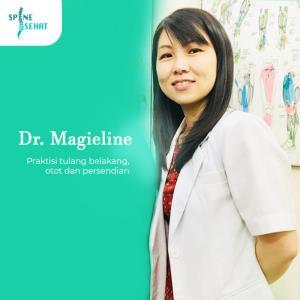 Dr.Magieline Rosalina Praktisi Kesehatan Tulang Belakang, Otot dan Persendian
